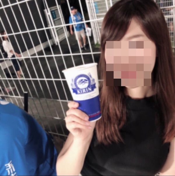 出会い系の隠れ巨乳(Gカップ)の女
